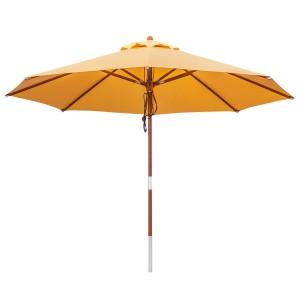 Sonnenschirme Holz Formschone Klassiker Sonnenschirme