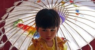 asiatische Sonnenschirme